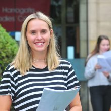 University destinations of Harrogate Ladies College pupils