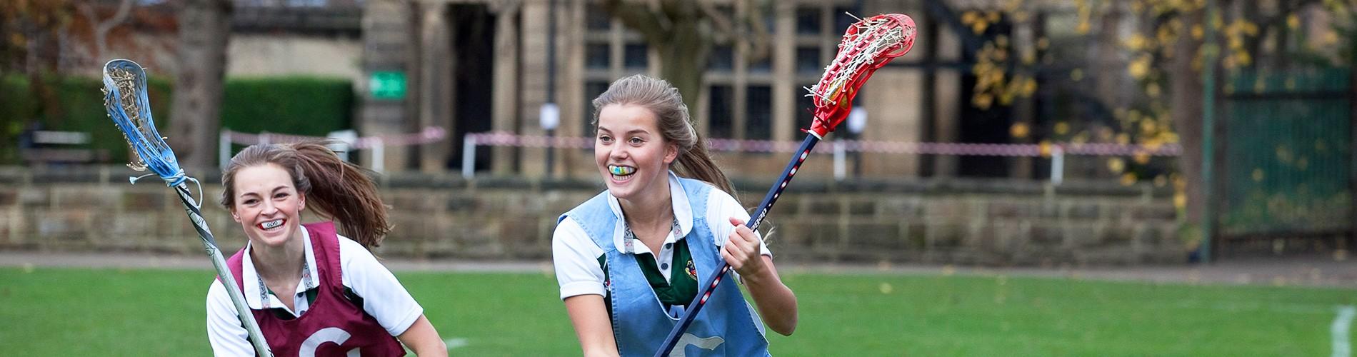 Harrogate Ladies College – Lacrosse Match