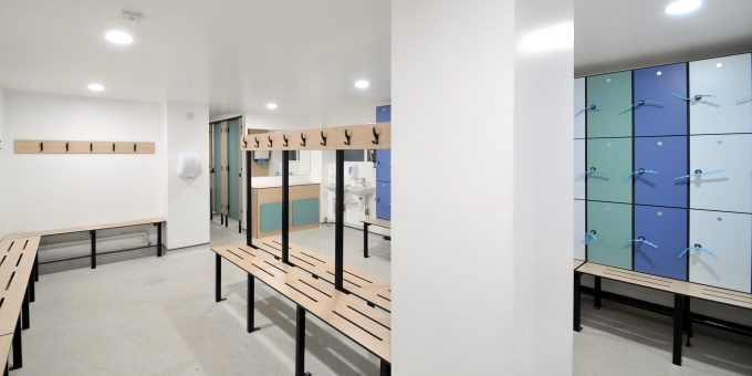 Harrogate Ladies College – Swimming Pool Changing Rooms