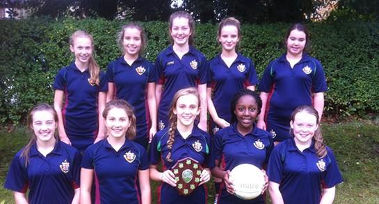 Harrogate Ladies' College Schools netball champions October 2014