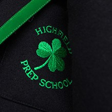 Highfield Prep School Harrogate – blazer badge