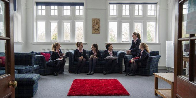 Sixth Form Common Room at Harrogate Ladies' College