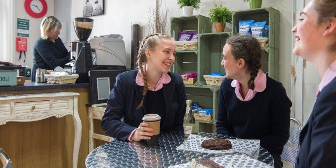 Sixth Form Cafe at Harrogate Ladies College