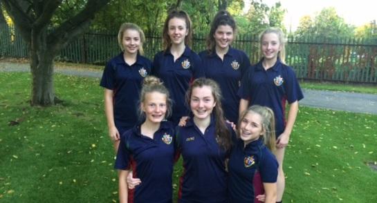 Harrogate Ladies College U14 Netball Squad - Harrogate Schools Champions for Second Year Running