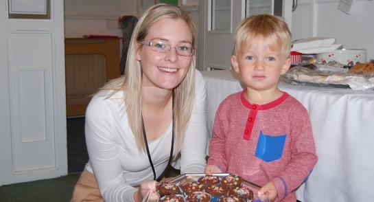 Bankfield Pre-Prep and Nursery Cake Stall for St Michaels Hospice