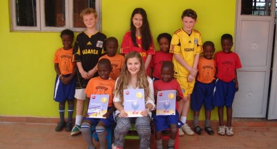 Highfield Prep School Pupils visit Bombo in Uganda