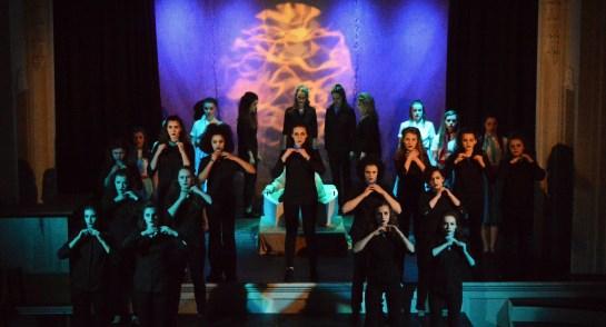 Harrogate Ladies' College Drama Department Production of Under Milk Wood