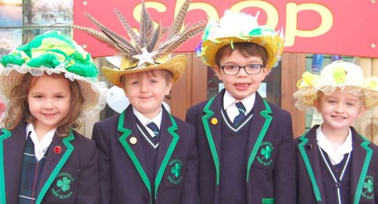 Highfield Prep School Easter Parade