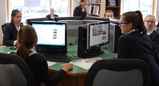Harrogate Ladies College BBC School Report Newsroom