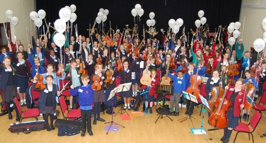 Harrogate Ladies College Junior Orchestra Day