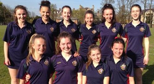 Harrogate Ladies College U14 Rounders A Team