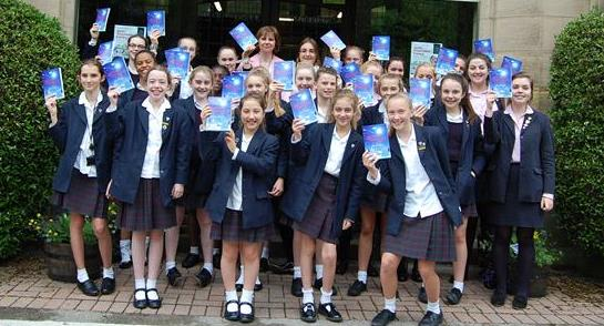 Creative writing stars of the future celebrate seeing their work in print