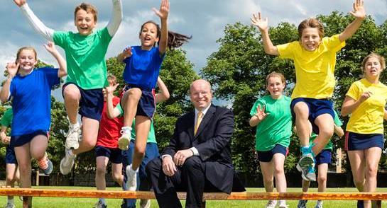 Highfield Prep School Pupils Welcome Their New Head, James Savile