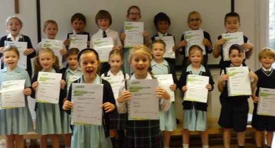 ... celebrate perfect scores of 100% in their Speech and Drama exams