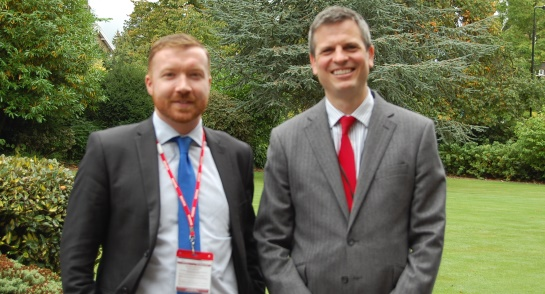 Richard Tillett, Senior Deputy, Harrogate Ladies' College and Dr Jon Finn, Tougher Minds Founder