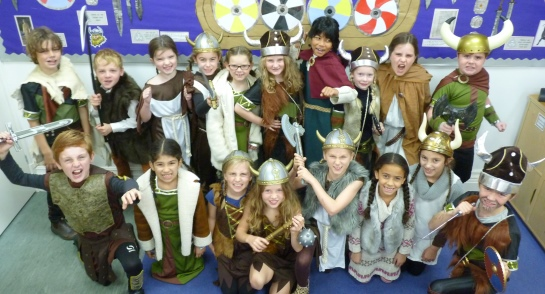 The Fearsome Vikings at Highfield Prep School