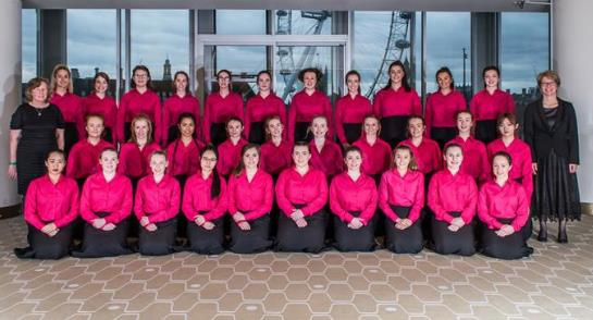 Harrogate Ladies' College Chapel Choir at the Royal Festival Hall
