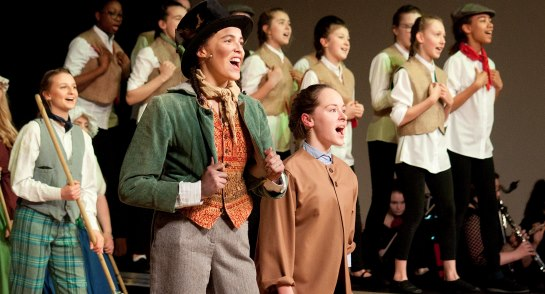 Harrogate Ladies' College pupils production of Oliver!