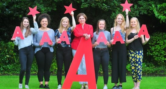 Harrogate Ladies College A level results 2017