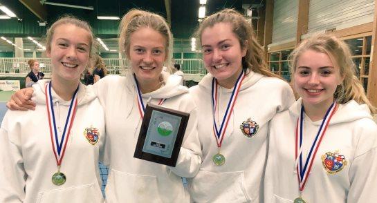 2017 Yorkshire Schools Tennis Champions - Harrogate Ladies' College