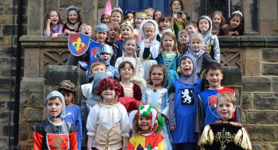 Highfield Prep School Medieval Day