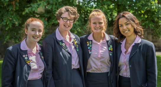 Harrogate Ladies' College - Senior Four for 2017