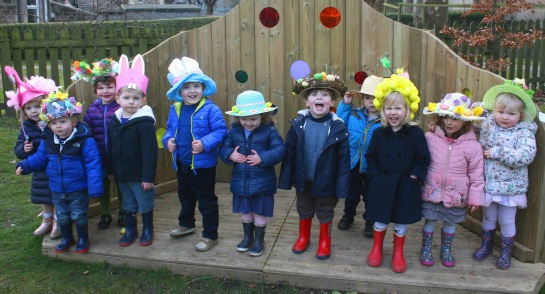 Highfield Pre-School Easter Bonnets