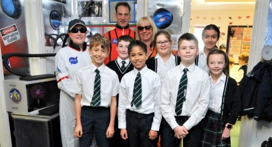 Highfield Prep School - Space Week