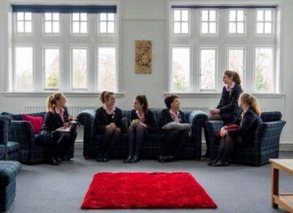 Sixth Form facilities at Harrogate Ladies College - Common Room