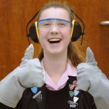Sixth Form student at Harrogate Ladies College