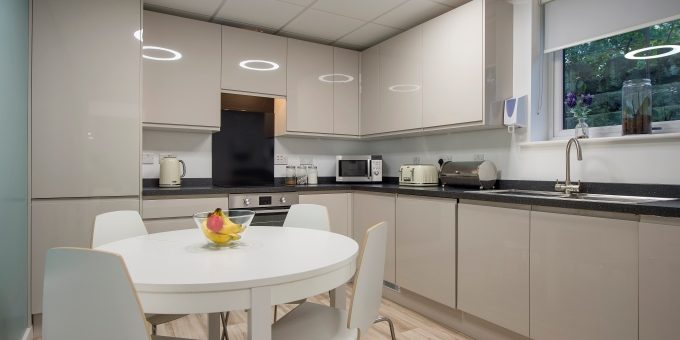 Wellness Centre Kitchen at Harrogate Ladies College