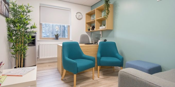 Consultation Room at Harrogate Ladies College Wellness Centre