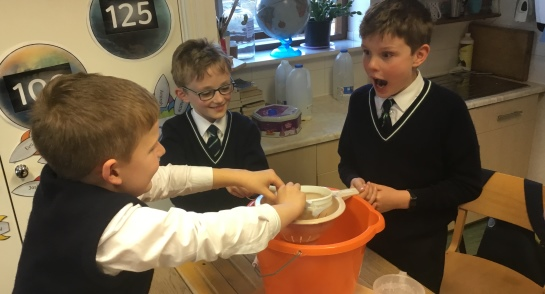 Year 5 smelly science