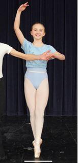 Harrogate Ladies' College ballet student