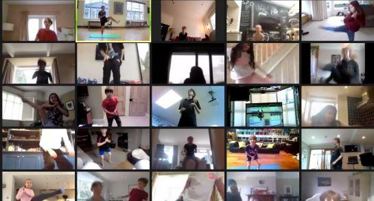 Live PE Workout